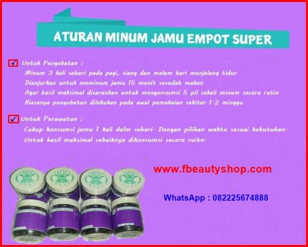 Jamu Harumita Empot Empot Ayam Super