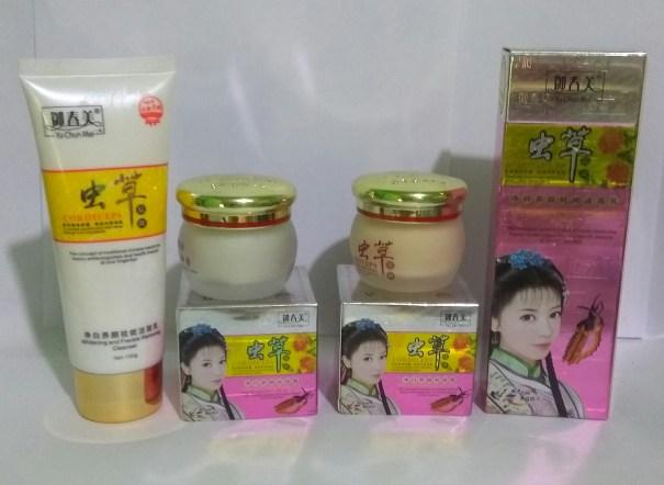 yu chun mei cream siang malam dan sabun