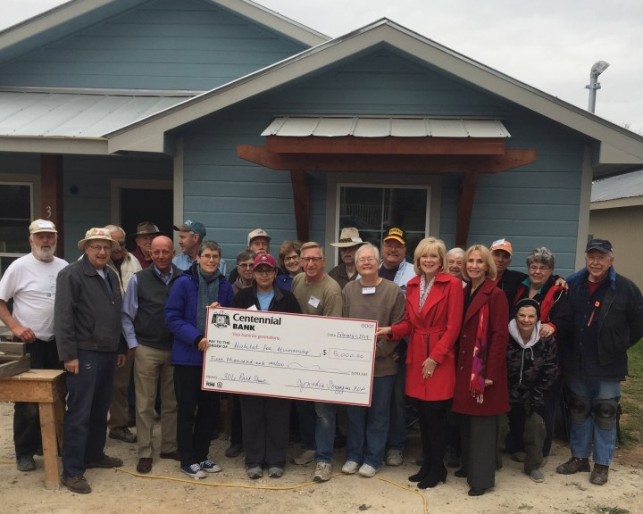 Centennial Bank donation