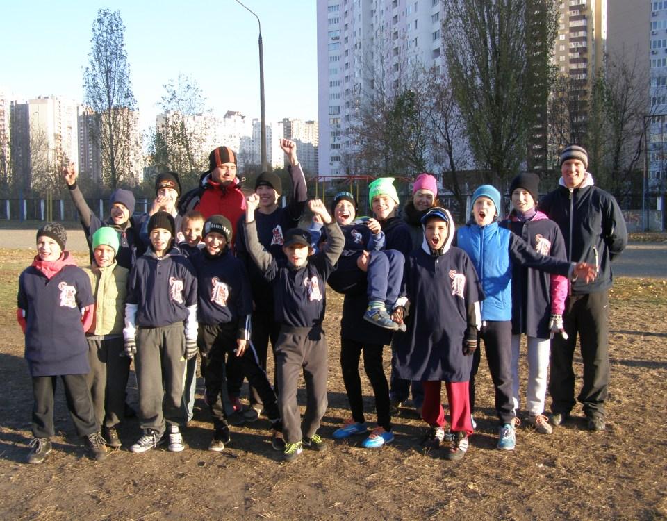 команды «Дарницкие Тигры» и «Олимп»