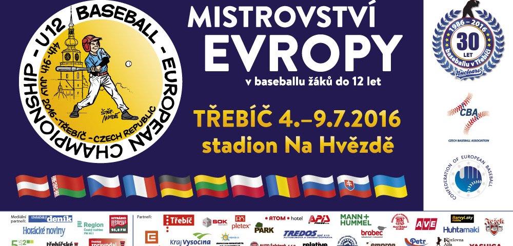 U12 Baseball - European Championship - Trebic 2016