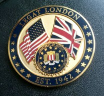 Challenge coin forged to honor more than 70 years of FBI friendship and cooperation with British partners.