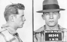 "This 1953 Boston police booking photo shows James ""Whitey"" Bulger after an arrest. Bulger and his girlfriend Catherine Greig, were apprehended Thursday, June 23, 2001, in Santa Monica, Calif., after 16 years on the run. (AP Photo/Boston Police via The Boston Globe) WCVB-TV, thebostonchannel.com OUT"