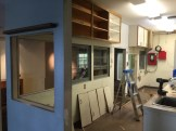 All the cabinets have to go!