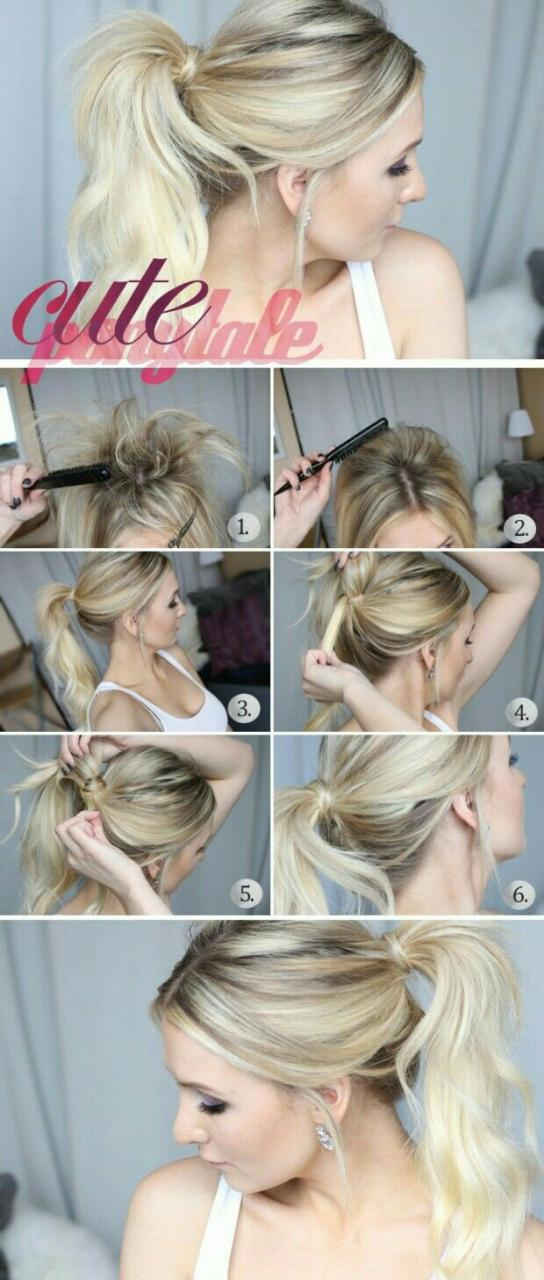 Easy To Do Hairstyles - Step By Step Tutorials