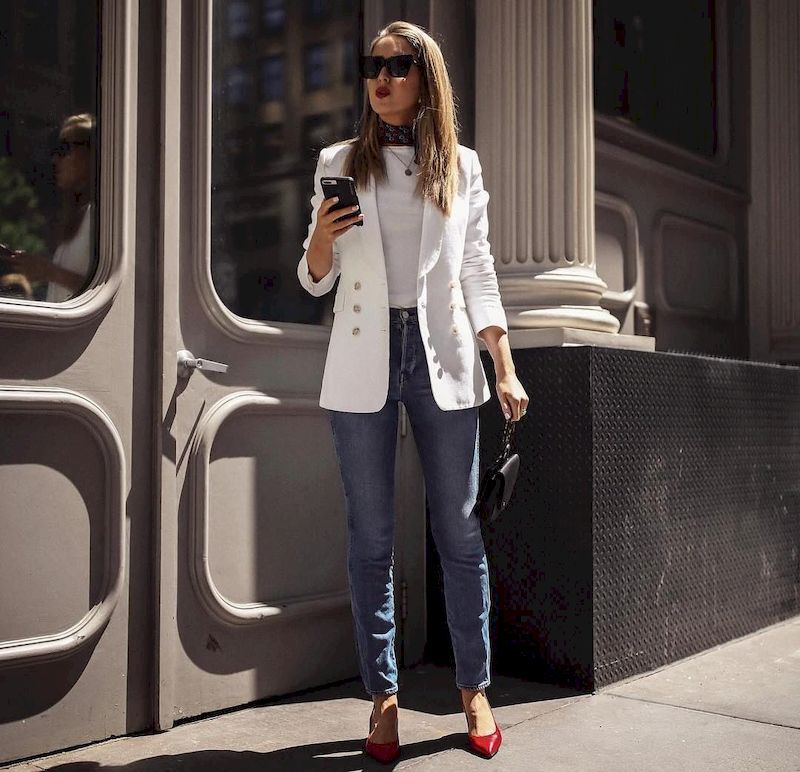 Trendy Business Work Outfits For Women on 2019
