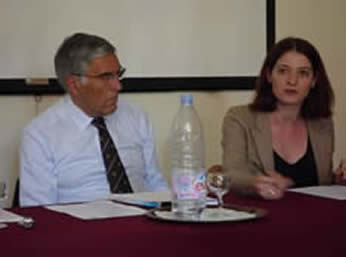 Lord Phillips and Jordanne Arlettaz, MC UNSA, Faculte de droit et de Sciences Economiques