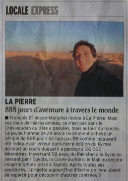 Dauphiné Libéré, 06/2013