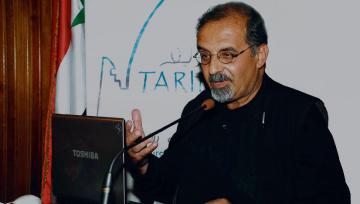 علم من اعلام الاردن وفلسطين راسم بدران وسفير فوق العادة للاردن في فن العمارة العربية الاسلامية
