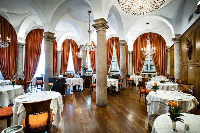 Historical Restaurant in Milan