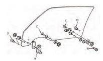 1978 1979 1980 1981 Camaro Window Tracks & Glass Parts