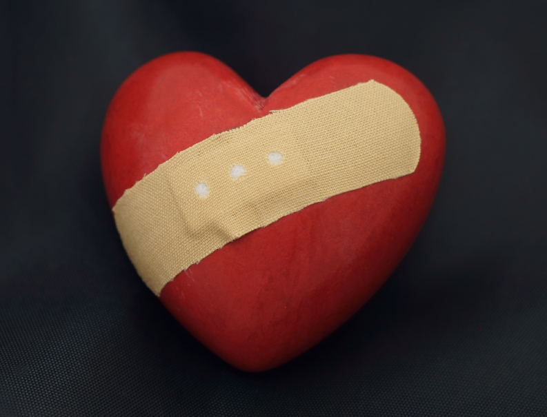 """Heart """"Bandage"""" Reduces Damage in an Attack"""
