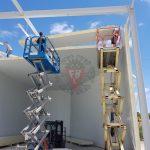 Montagem Câmara Congelados Logistica - F. Brigido
