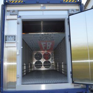 Interior Túnel Congelação Amovível - F. Brigido