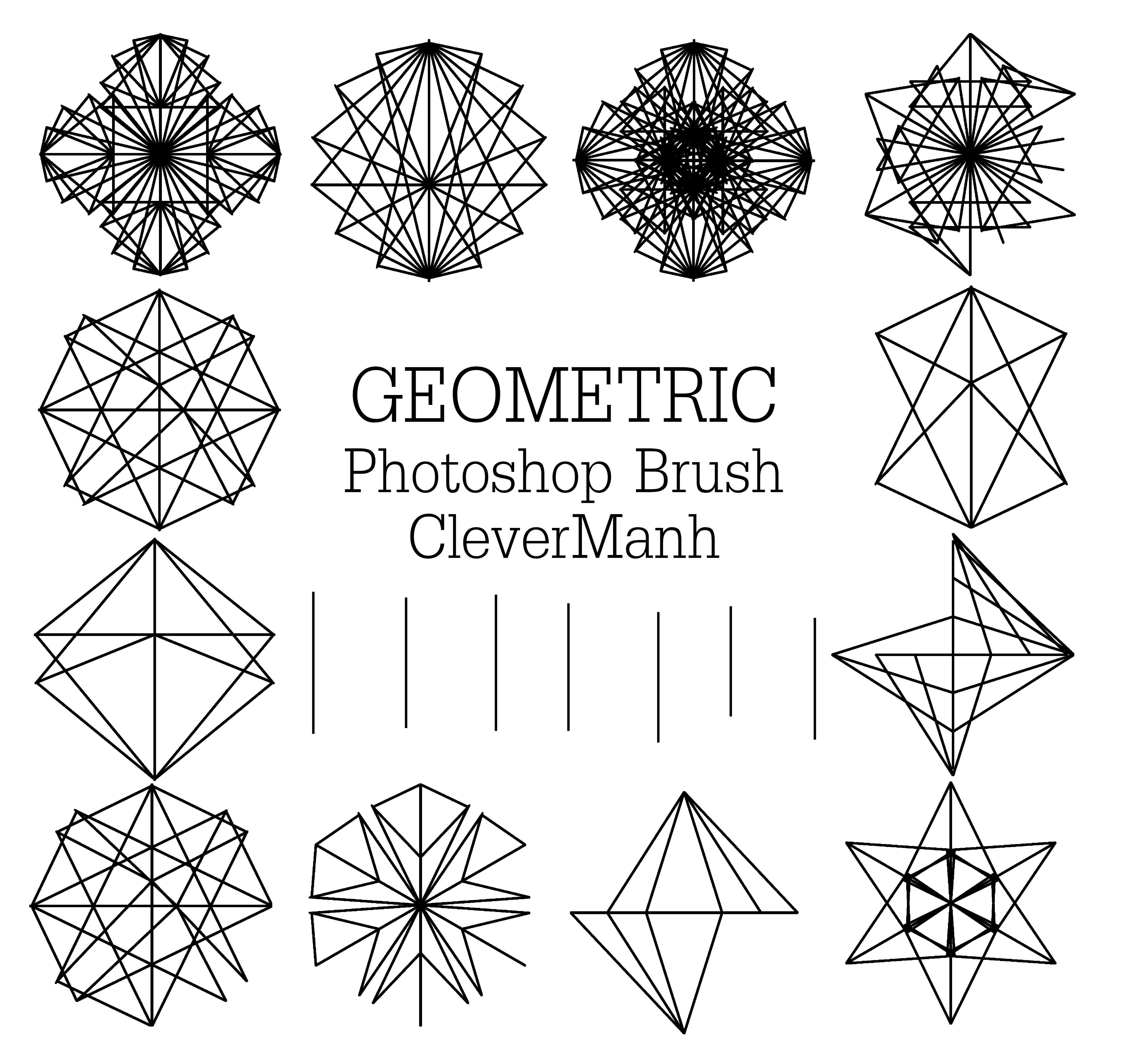 Abstract Geometric Brushes