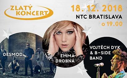 Zapojte sa do súťaže o 100x lístky na Zlatý koncert!  df9196983b4