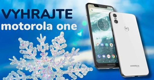 Zapojte sa do TOP súťaže o Smartfón Motorola One v hodnote 250€ 6570256b060