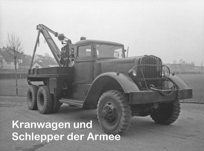 KranwagenSchlepperArmee