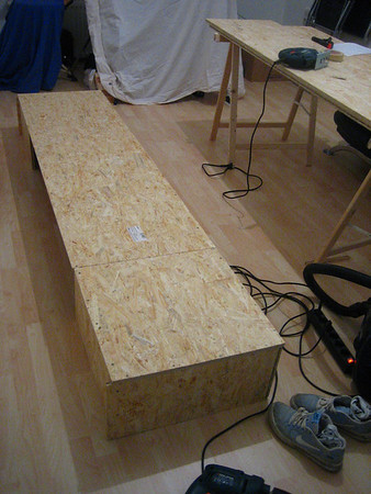 bed project: box of the right side