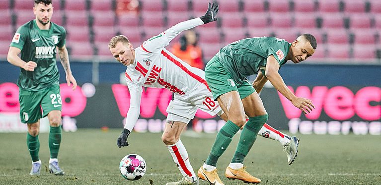 1. FC Köln | FC beaten by Augsburg