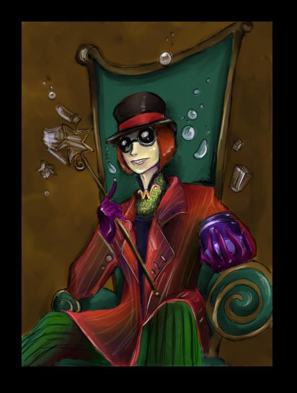 Willy Wonka Art