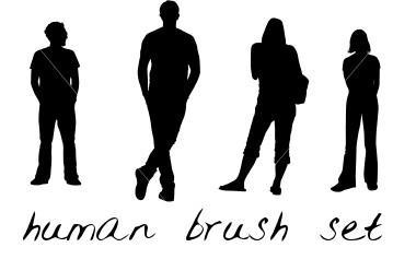 Download human brush preset : tertidaraのblog
