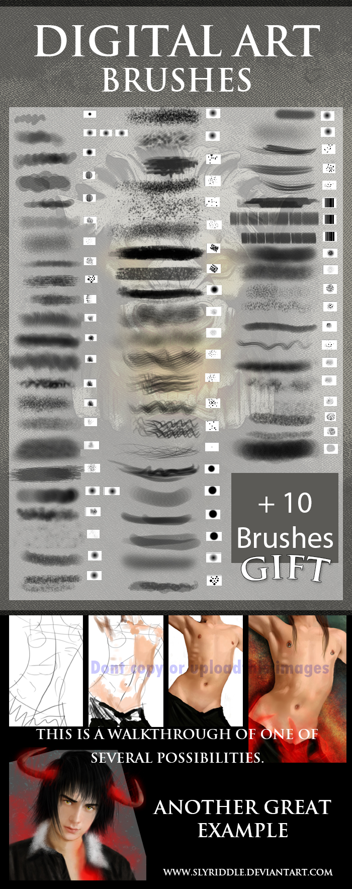 Digital Painting Brushes By H Leao On DeviantArt