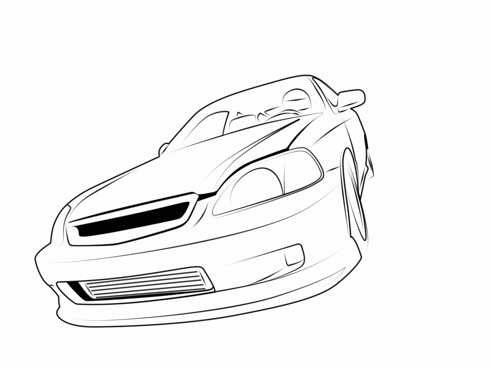 94 Civic Coloring Pages Coloring Pages