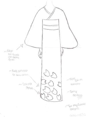 kimono drawing deviantart camera