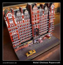 Chelsea Hotel Papercraft