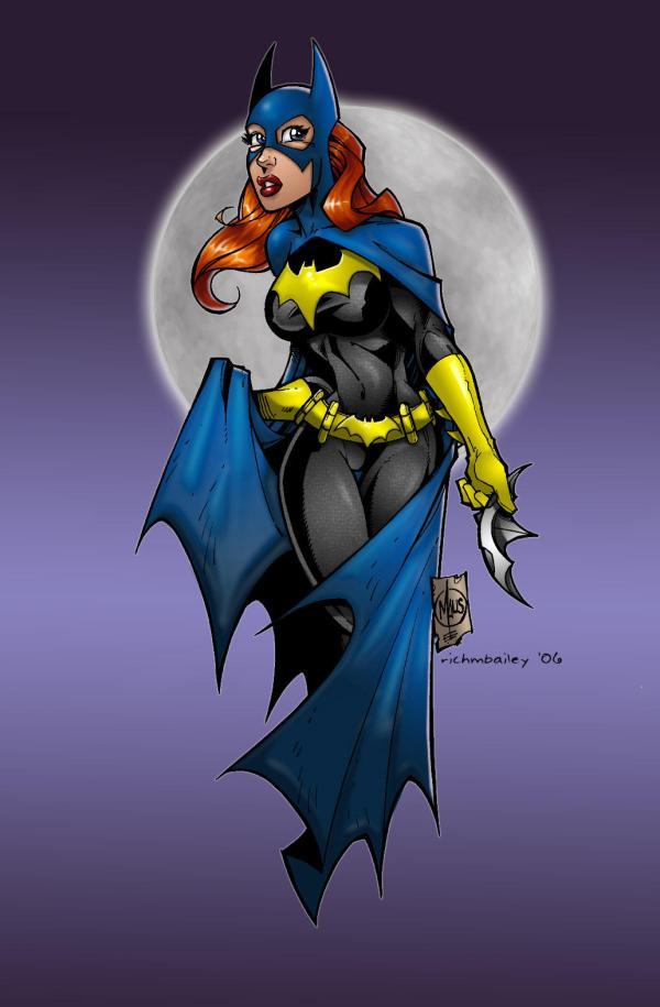 deviantART Batgirl Drawings