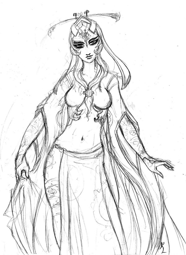 20 Midna Twilight Princess Coloring Pages Person Ideas And Designs