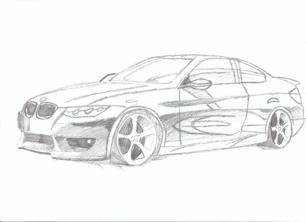 Drawing Bmw Outline Of Car