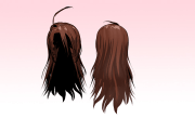 mmd messy awesome hair amiamy111