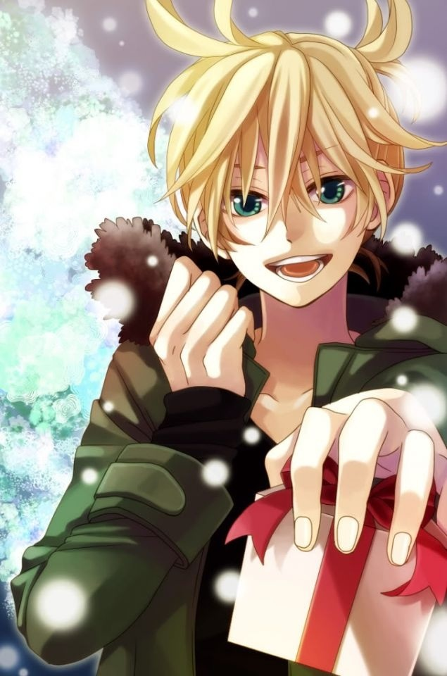 My New Years Resolution Kagamine Len x Reader by