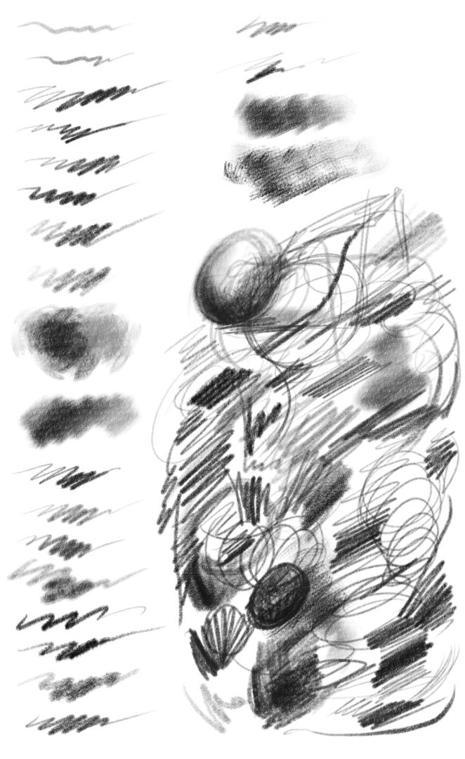 Daves Digital Pencil and Graphite Set Version 4 by