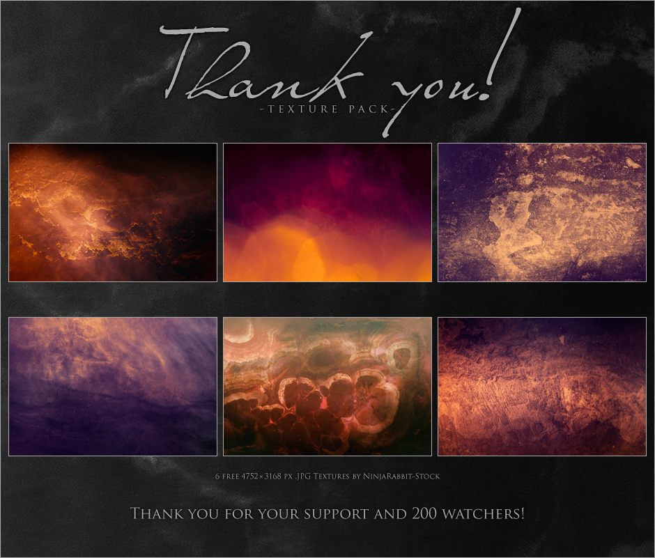 Thank You! - Pack by NinjaRabbit-Stock