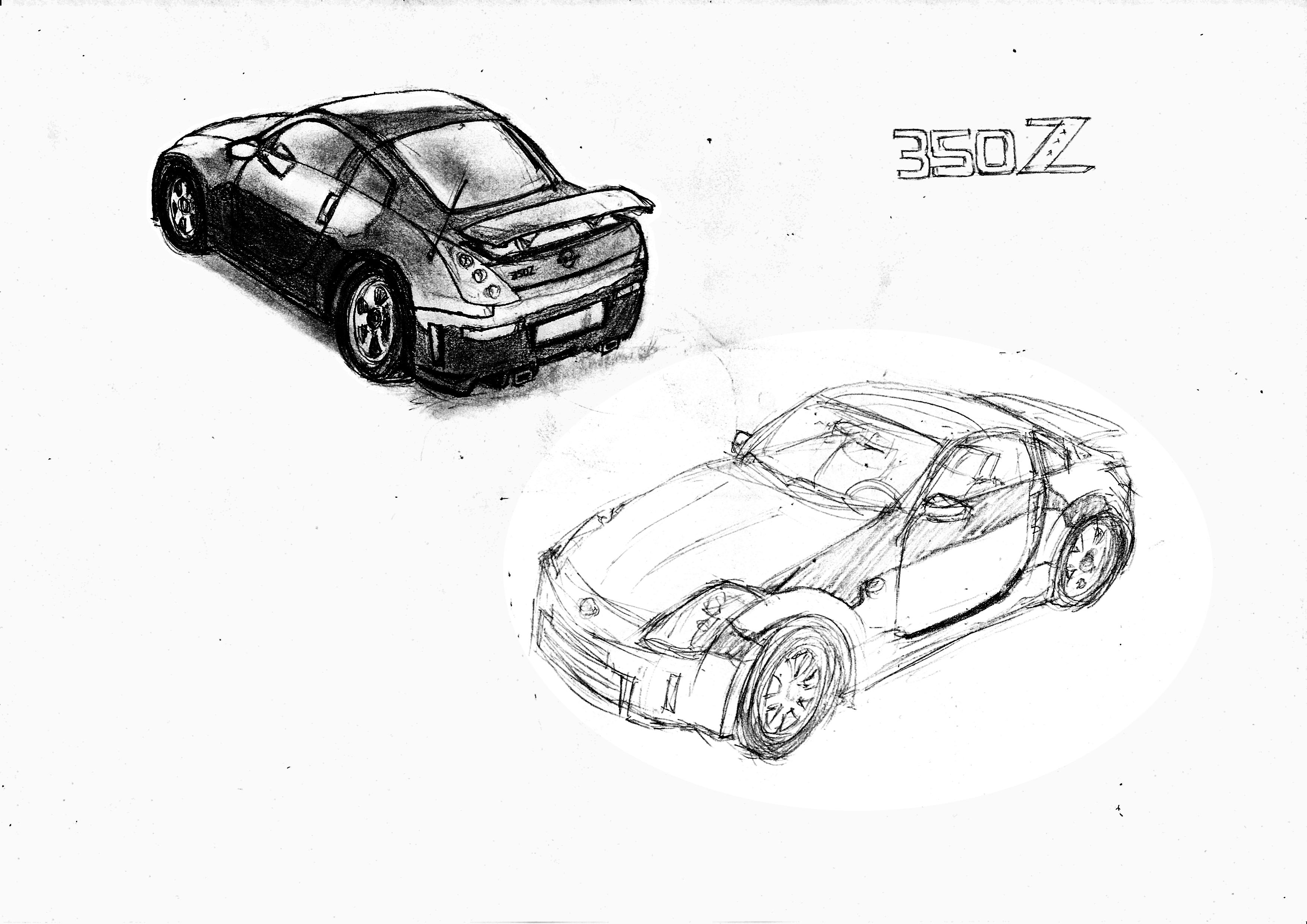 NISSAN 350Z by pensuke by LowyatClub on DeviantArt