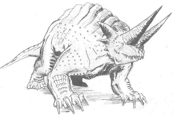Oryctoceratops Baragoni by Ashere on deviantART