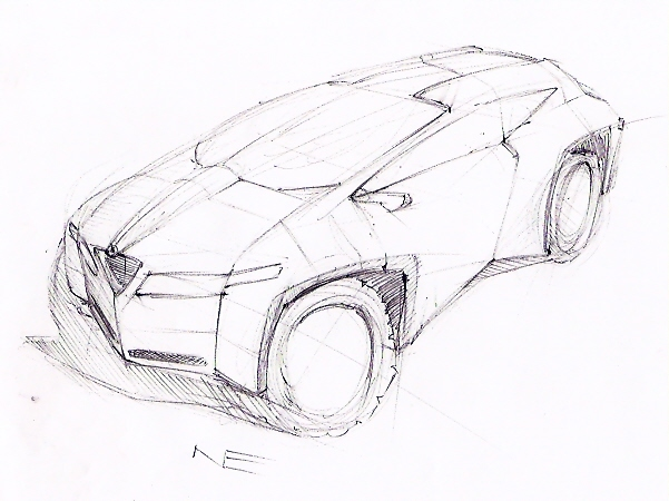 Alfa Romeo SUV Design Sketch by Seiji89 on deviantART