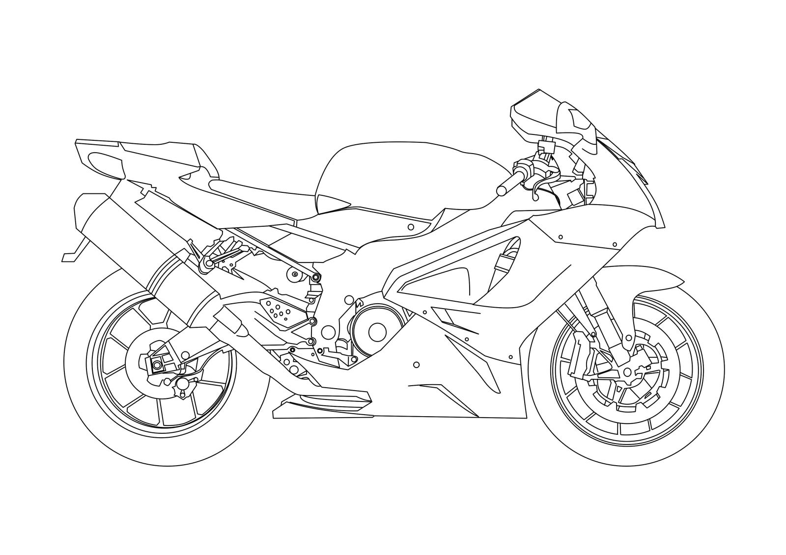 Does Anyone Have A Drawing Of An RSV1000R?