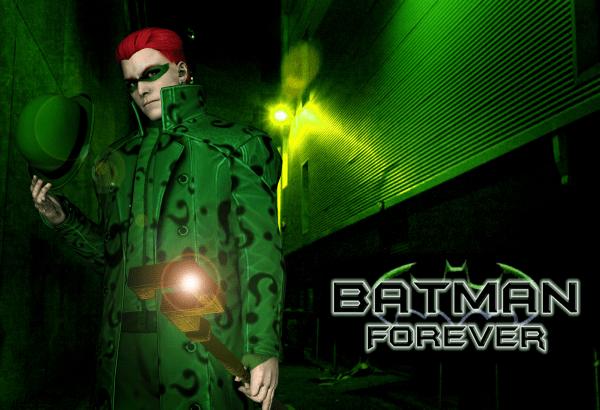 Jim Carrey Batman Forever Riddler