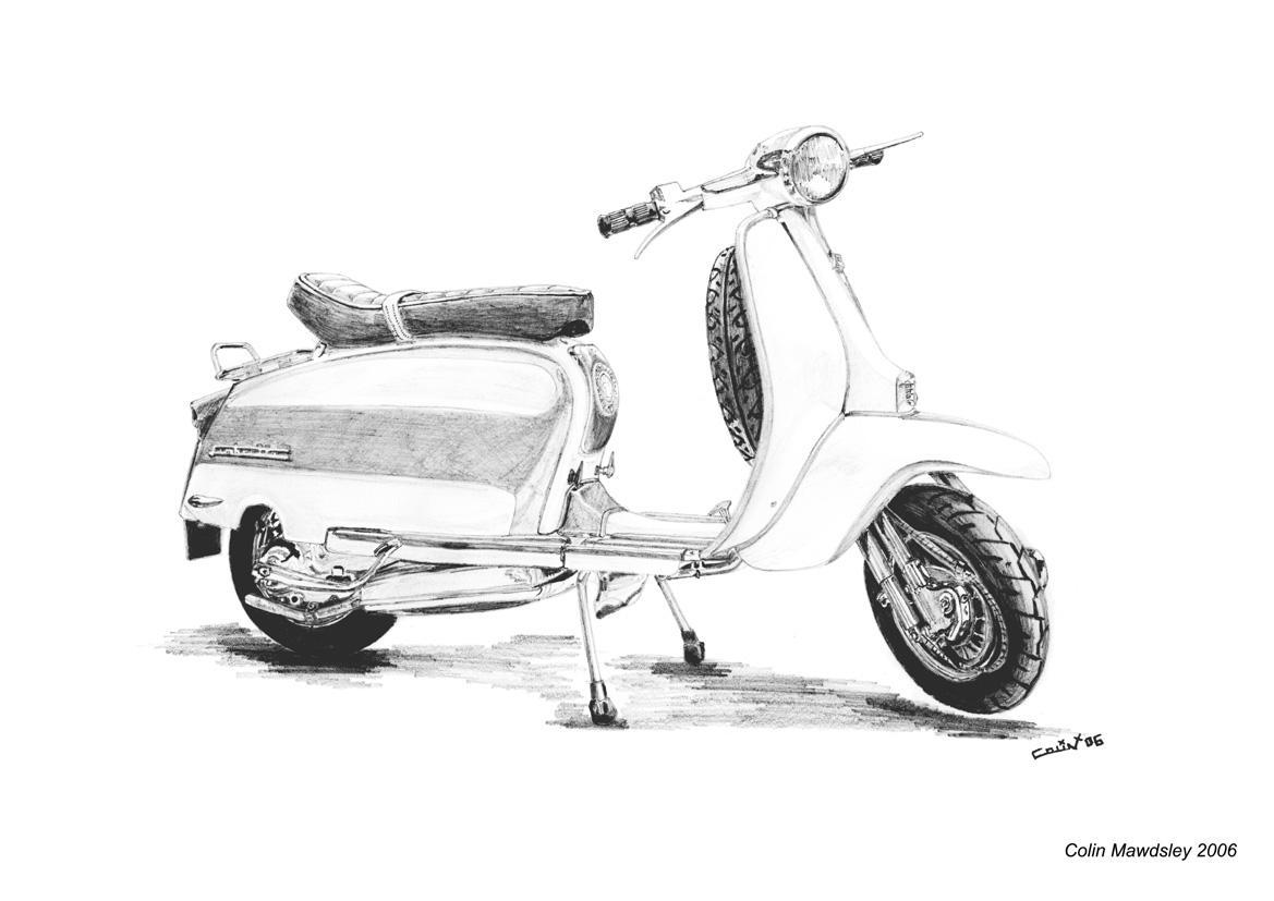 Classic Lambretta by kloggi69 on DeviantArt