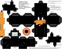 Cubeecarft de los Looney Tunes.