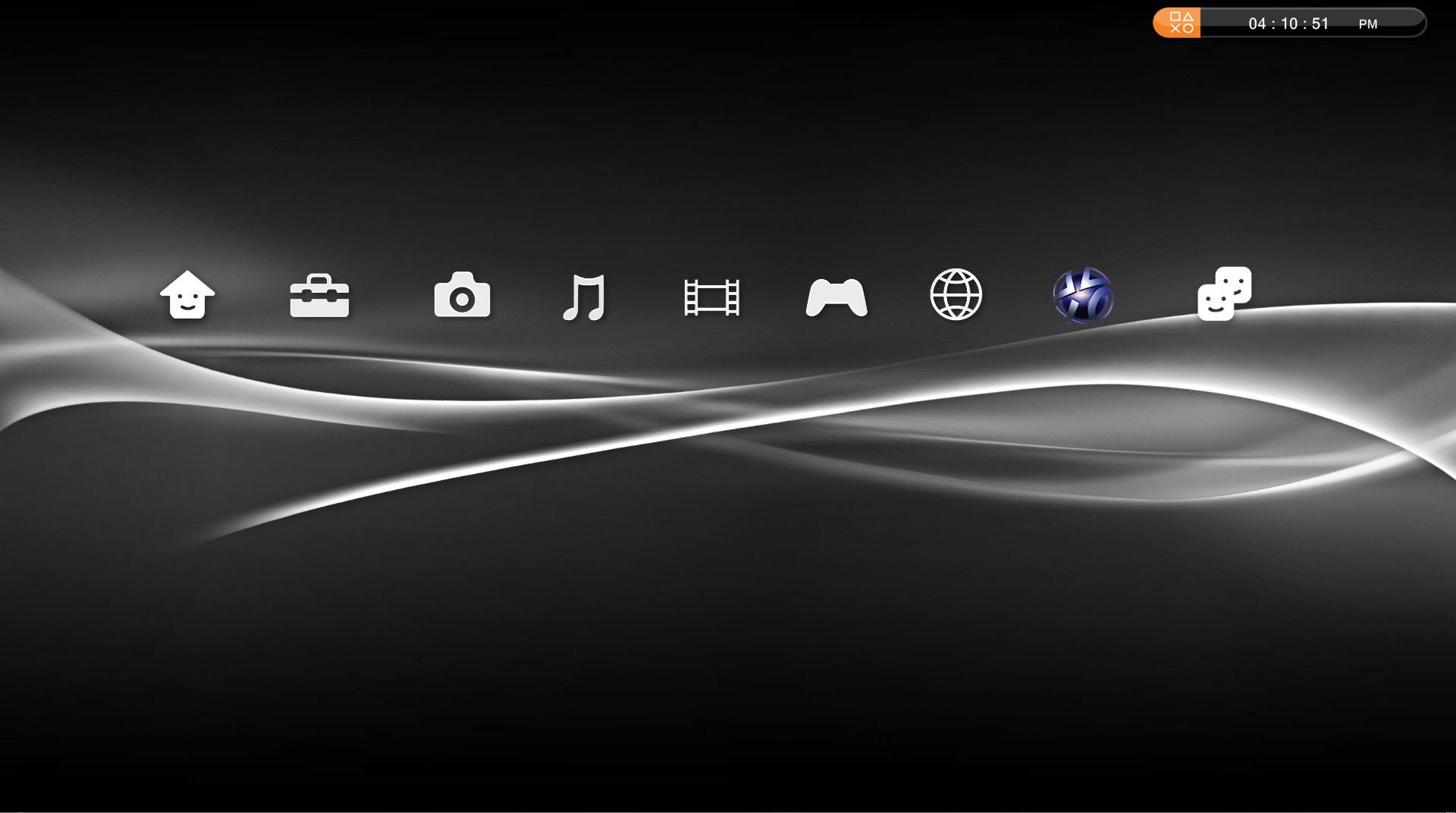 Complete Black Wallpaper Ps3 Gui For Your Desktop Pc By Jmr101 On Deviantart