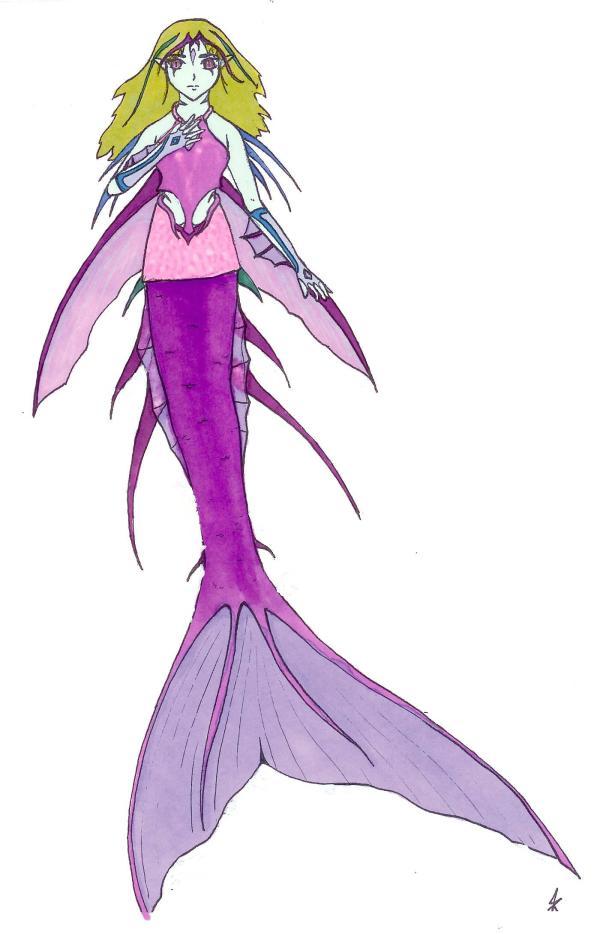 Anime Evil Mermaid Drawings