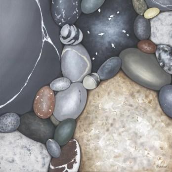 Channelling by Kristina Boardman, 24x24, Acrylic