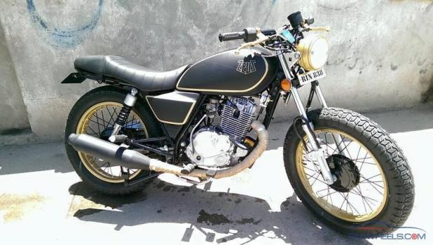 Suzuki 150cc Cafe Racer Automotivegarage Org