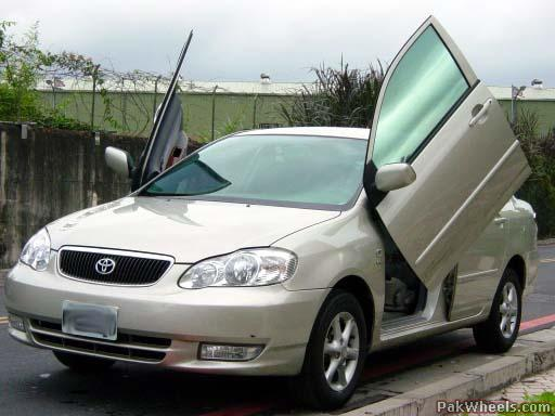 Modified Toyota Corolla X 2006