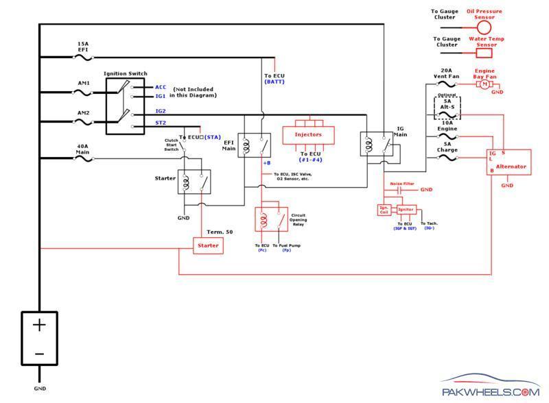 4age blacktop wiring diagram ice bear trike digram - mechanical/electrical pakwheels forums